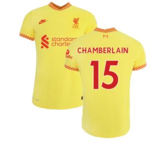 Liverpool 2021-2022 3rd Shirt (Kids) (CHAMBERLAIN 15)