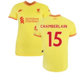 Liverpool 2021-2022 Womens 3rd Shirt (CHAMBERLAIN 15)