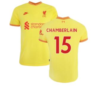 Liverpool 2021-2022 Vapor 3rd Shirt (CHAMBERLAIN 15)