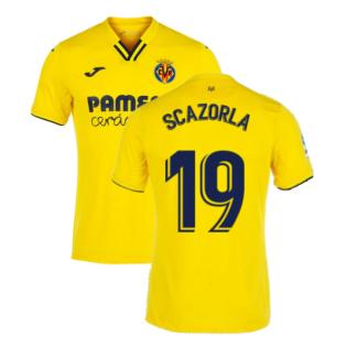 2021-2022 Villarreal Home Shirt (S CAZORLA 19)