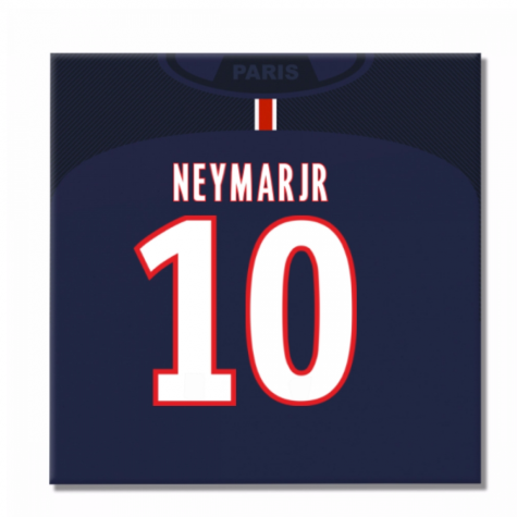 2016-2017 PSG Canvas Print (Neymar Jr 10)
