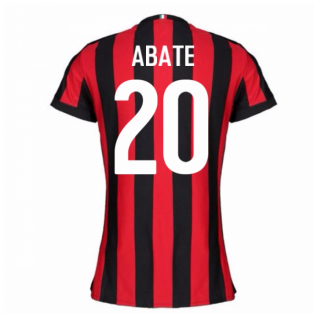 2017-2018 AC Milan Womens Home Shirt (Abate 20)