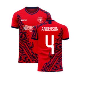 Aberdeen 2020-2021 Home Concept Football Kit (Libero) (ANDERSON 4)