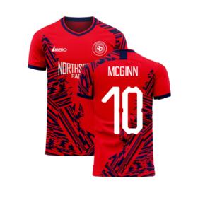 Aberdeen 2020-2021 Home Concept Football Kit (Libero) (McGinn 10)