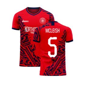 Aberdeen 2020-2021 Home Concept Football Kit (Libero) (MCLEISH 5)