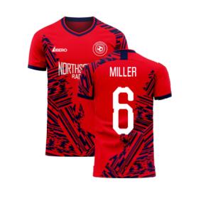 Aberdeen 2020-2021 Home Concept Football Kit (Libero) (MILLER 6)