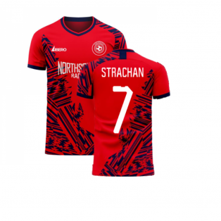 Aberdeen 2020-2021 Home Concept Football Kit (Libero) (STRACHAN 7)