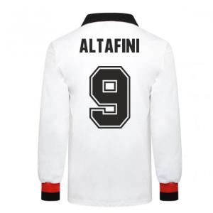 AC Milan 1963 European Cup Final Retro Football Shirt