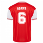 Score Draw Arsenal 1985 Centenary Retro Football Shirt (ADAMS 6)