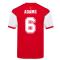 Score Draw Arsenal 1982 Home Shirt (ADAMS 6)