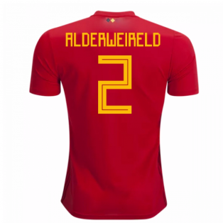 2018-2019 Belgium Adidas Home Shirt (Alderweireld 2) - Kids