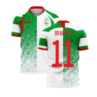 Algeria 2020-2021 Home Concept Football Kit (Libero) (BRAHIMI 11)