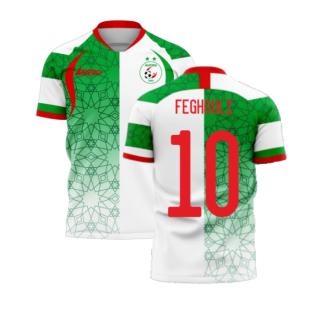 Algeria 2020-2021 Home Concept Football Kit (Libero) (FEGHOULI 10)