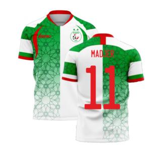 Algeria 2020-2021 Home Concept Football Kit (Libero) (MADJER 11)