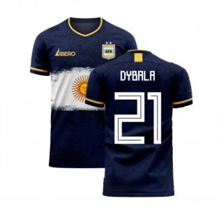 Argentina 2020-2021 Away Concept Football Kit (Libero) (DYBALA 21)
