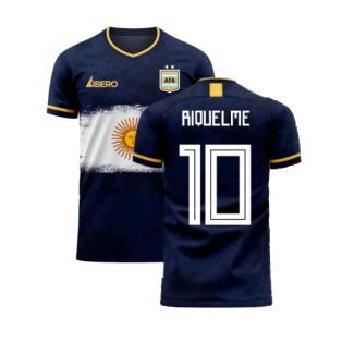Argentina 2020-2021 Away Concept Football Kit (Libero) (RIQUELME 10)