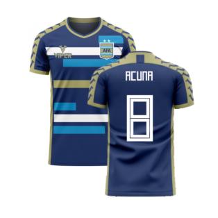 Argentina 2020-2021 Away Concept Football Kit (Viper) (ACUNA 8)