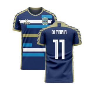 Argentina 2020-2021 Away Concept Football Kit (Viper) (DI MARIA 11)