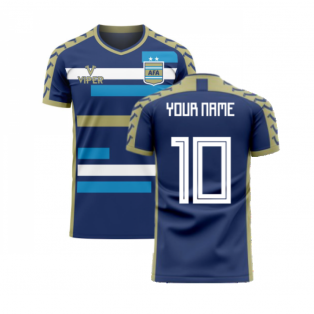 Argentina 2020-2021 Away Concept Football Kit (Viper) (Your Name)