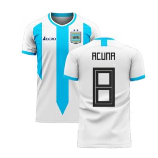 Argentina 2020-2021 Home Concept Football Kit (Libero) (ACUNA 8)