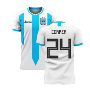 Argentina 2020-2021 Home Concept Football Kit (Libero) (CORREA 24)
