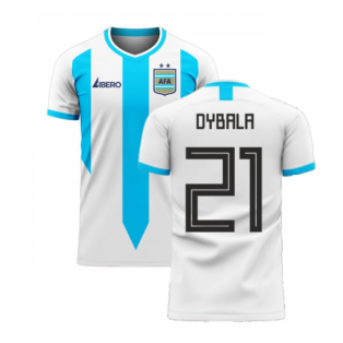Argentina 2020-2021 Home Concept Football Kit (Libero) (DYBALA 21)