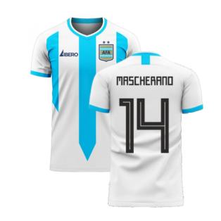 Argentina 2020-2021 Home Concept Football Kit (Libero) (MASCHERANO 14)