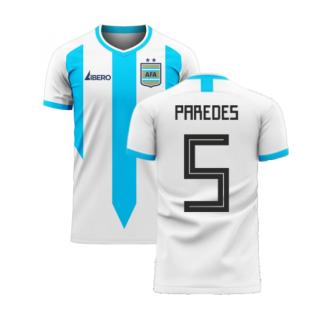Argentina 2020-2021 Home Concept Football Kit (Libero) (PAREDES 5)