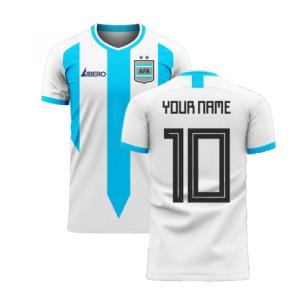 Argentina 2020-2021 Home Concept Football Kit (Libero)