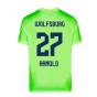 2020-2021 VFL Wolfsburg Home Nike Football Shirt (ARNOLD 27)