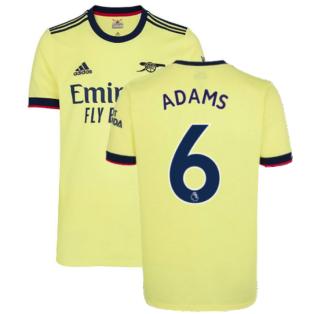 Arsenal 2021-2022 Away Shirt (ADAMS 6)