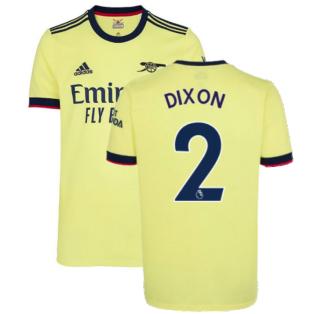 Arsenal 2021-2022 Away Shirt (DIXON 2)