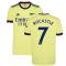 Arsenal 2021-2022 Away Shirt (Kids) (ROCASTLE 7)