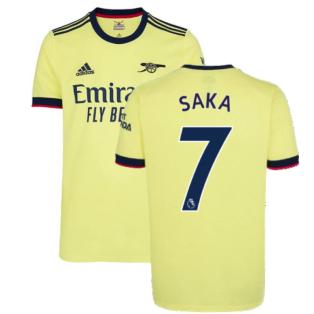 Arsenal 2021-2022 Away Shirt (Kids) (SAKA 7)