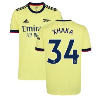 Arsenal 2021-2022 Away Shirt (Kids) (XHAKA 34)