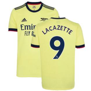 Arsenal 2021-2022 Away Shirt (LACAZETTE 9)
