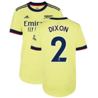 Arsenal 2021-2022 Away Shirt (Ladies) (DIXON 2)