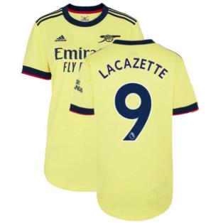 Arsenal 2021-2022 Away Shirt (Ladies) (LACAZETTE 9)