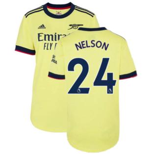 Arsenal 2021-2022 Away Shirt (Ladies) (NELSON 24)
