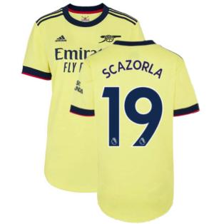 Arsenal 2021-2022 Away Shirt (Ladies) (S CAZORLA 19)