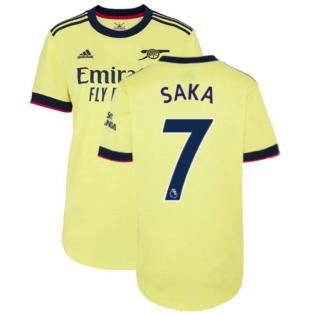 Arsenal 2021-2022 Away Shirt (Ladies) (SAKA 7)