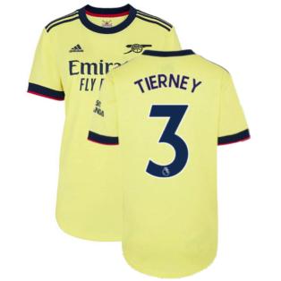 Arsenal 2021-2022 Away Shirt (Ladies) (TIERNEY 3)