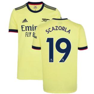 Arsenal 2021-2022 Away Shirt (S CAZORLA 19)