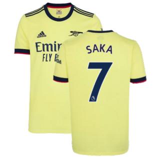 Arsenal 2021-2022 Away Shirt (SAKA 7)