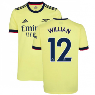 Arsenal 2021-2022 Away Shirt (WILLIAN 12)