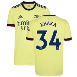 Arsenal 2021-2022 Away Shirt (XHAKA 34)
