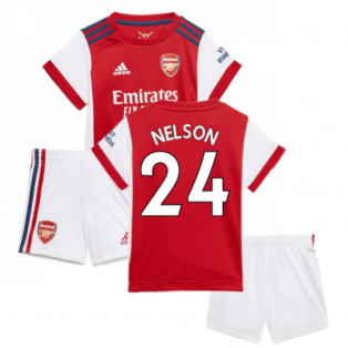Arsenal 2021-2022 Home Baby Kit (NELSON 24)