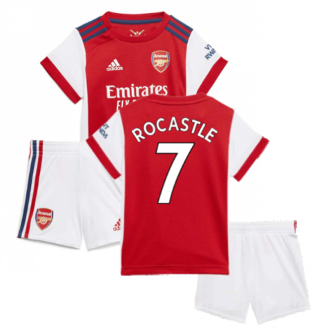 Arsenal 2021-2022 Home Baby Kit (ROCASTLE 7)
