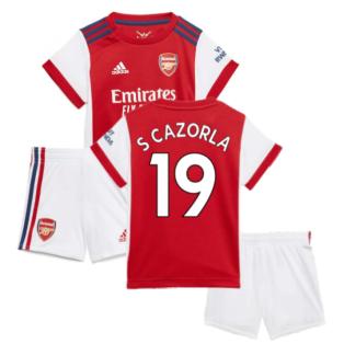 Arsenal 2021-2022 Home Baby Kit (S CAZORLA 19)