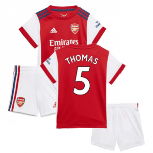 Arsenal 2021-2022 Home Baby Kit (Thomas 5)